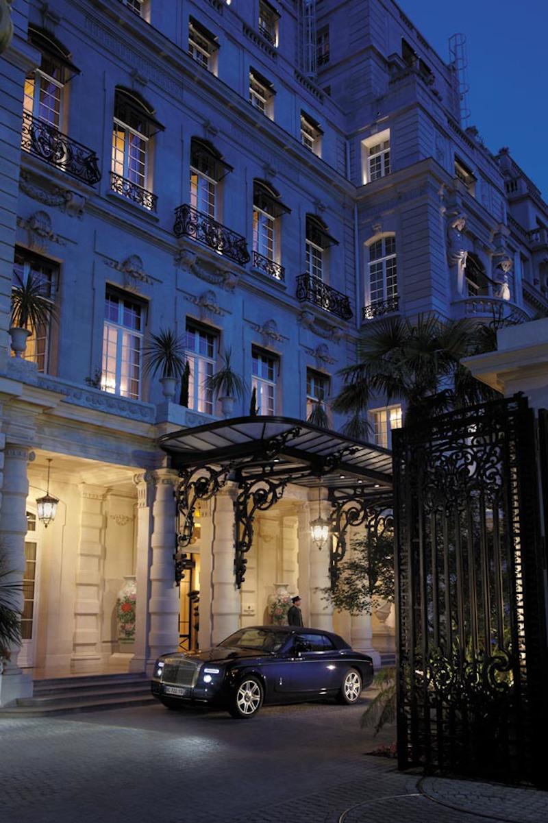 Είσοδος ξενοδοχείου στο Παρίσι