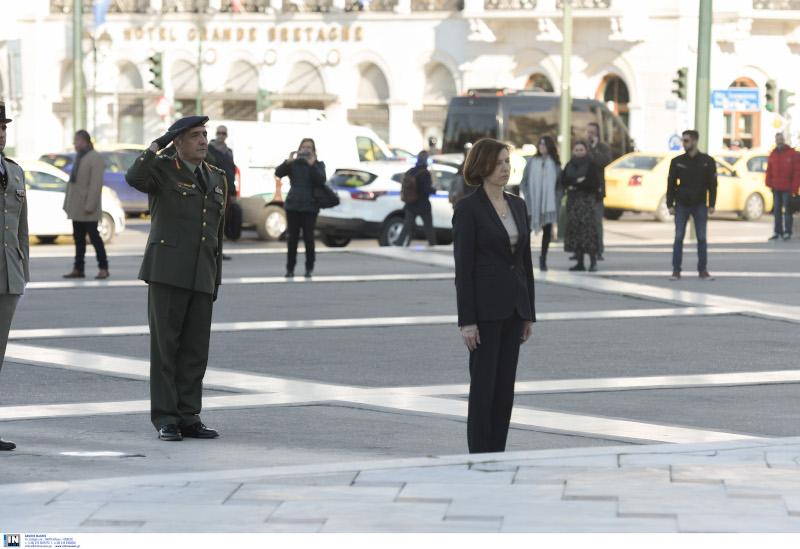 Η Γαλλίδα υπουργός Αμυνας, Φλοράνς Παρλί