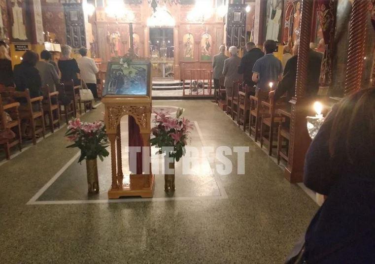 Πάτρα: Πλήθος κόσμου στις εκκλησίες για την «Ανάσταση» του κορωνοϊού