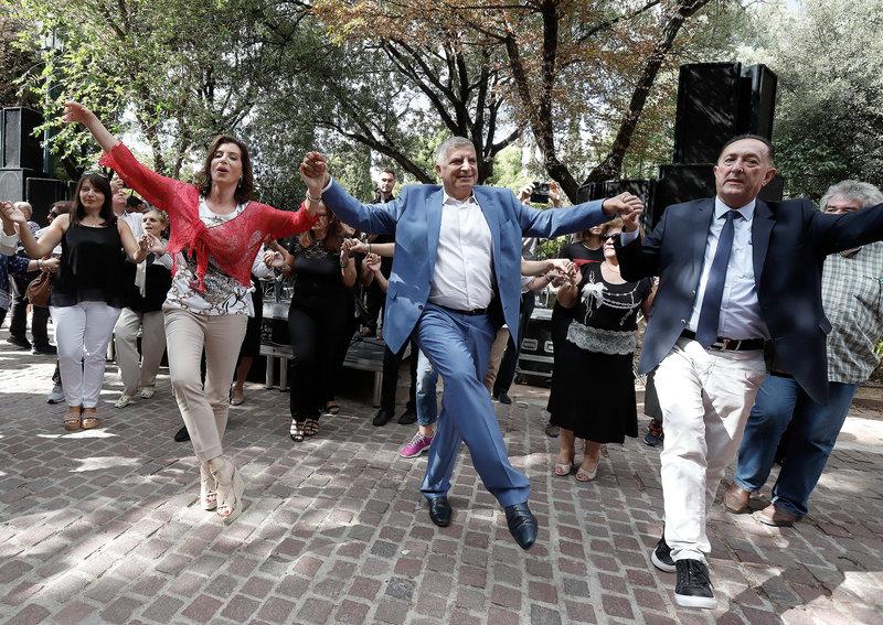 Χορός Πατούλη και Ασημακοπούλου