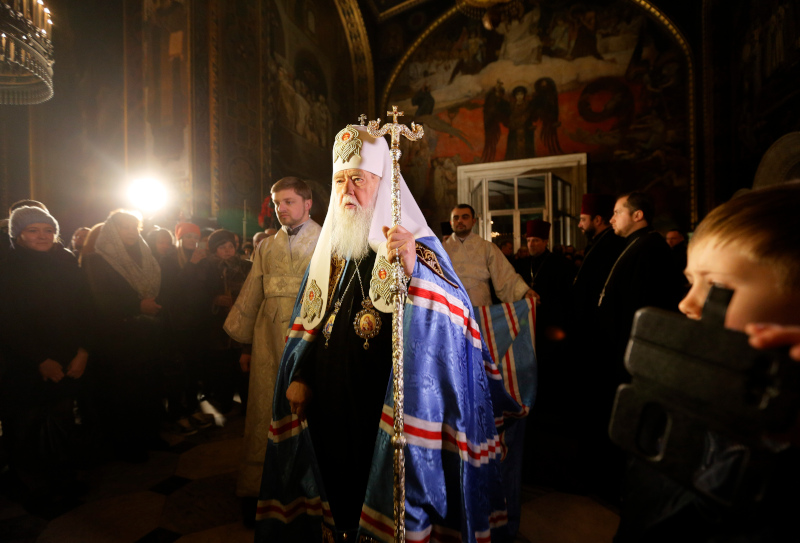 Ο πατριάρχης Φιλάρετος της Ουκρανίας