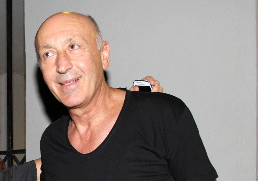 Ο Παύλος Ορκόπουλος με μαύρο T-Shirt σε φωτογραφία από το παρελθόν