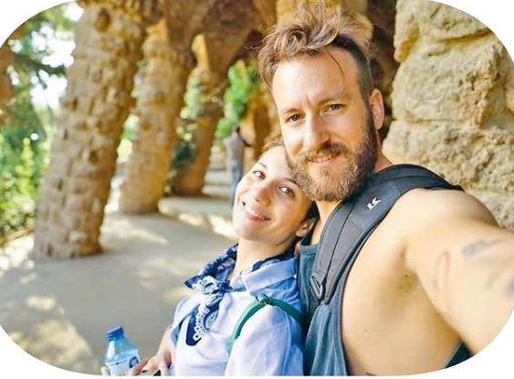 Η Πέννυ Μπαλτατζή με τον σύζυγό της, Χρήστου Τζιούτη
