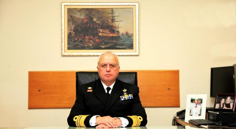 Ο νέος Αρχηγός ΓΕΝ Αντιναυάρχος Στυλιανός Πετράκης (ΠΝ)