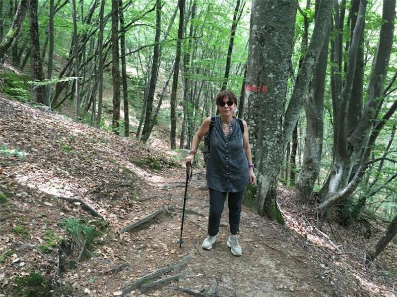 Η Αικατερίνη Σακελλαροπούλου για πεζοπορία στα βουνά της Θράκης