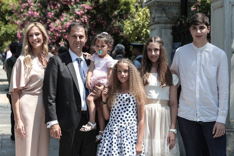 Η οικογένεια του Χάρη Θεοχάρη