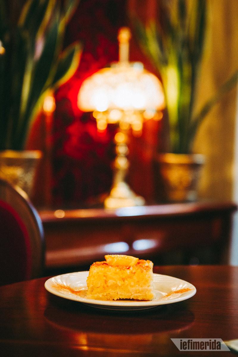Υπέροχο γλυκό στο Foyer Café Bistrot
