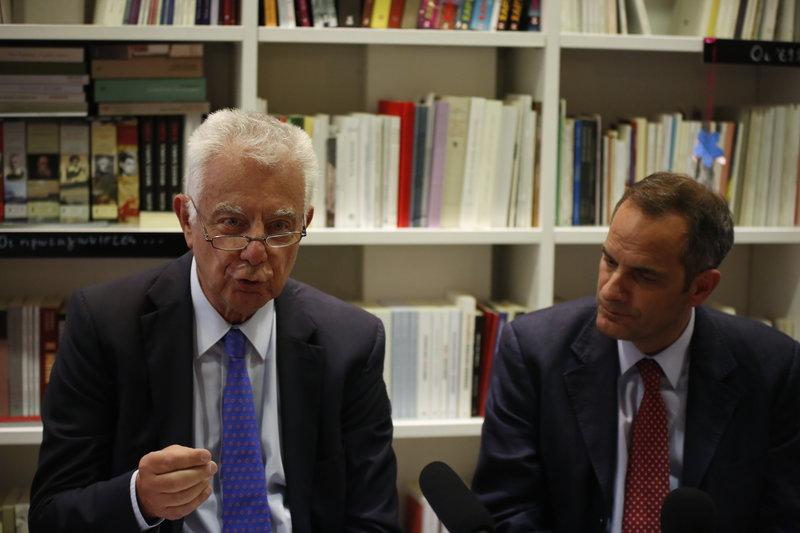 Ο Π. Πικραμμένος και ο Κ. Ζούλας σε συζήτηση για «ένα καινοτόμο Σύνταγμα»