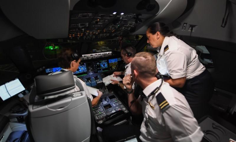 Πιλότοι σε πιλοτήριο