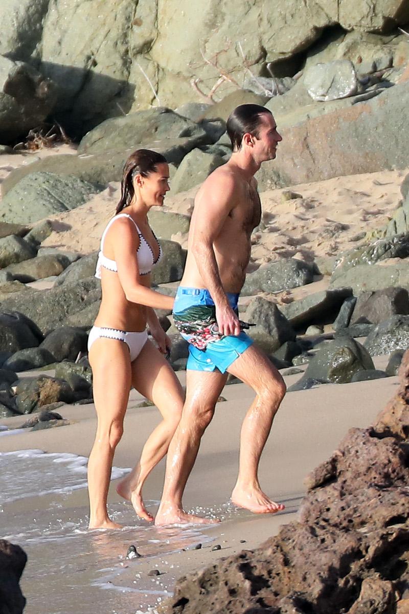 Πίπα Μίντλετον με σύζυγό της με μαγιό σε διακοπές τους