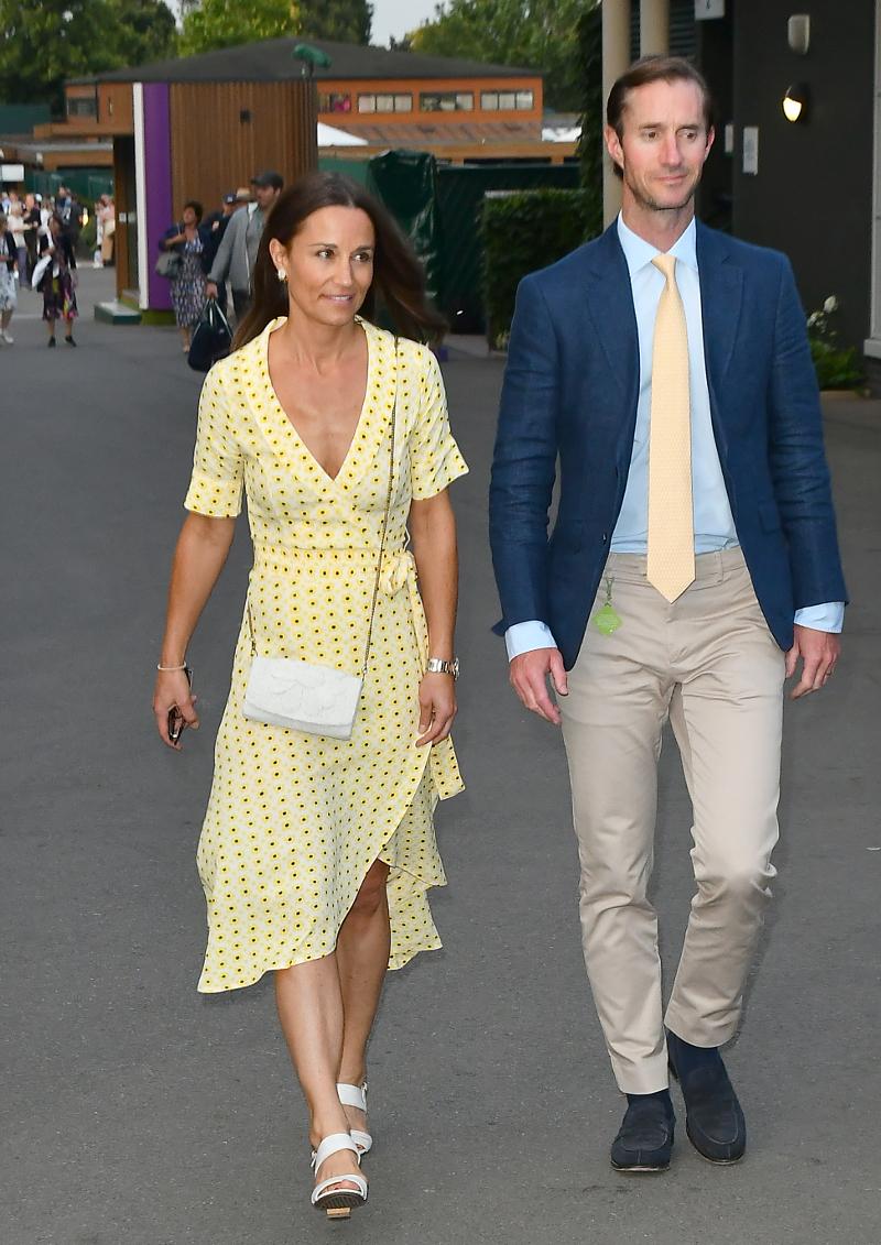 Η Πίπα Μίντλετον με τον σύζυγό της Τζέιμς Μάθιους