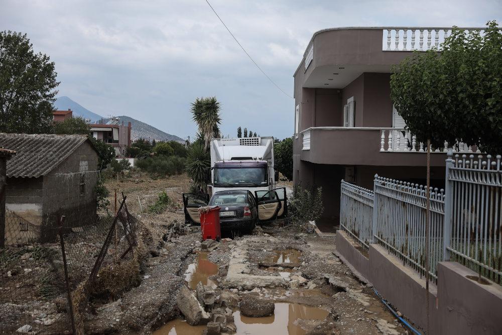 Τεράστιες καταστροφές στην Εύβοια μετά την κακοκαιρία