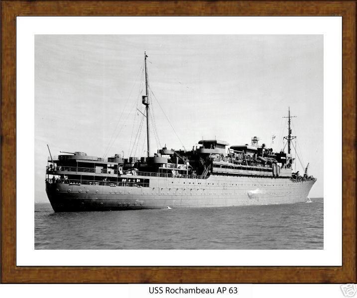 Το πλοίο που συμμετείχε στην απόβαση στη Νορμανδία και το οποίο ο 95χρονος επιθυμεί να δει και πάλι πίσω στην Ευρώπη για την επέτειο της αποφασιστικής νίκης επί των δυνάμεων του Αξονα