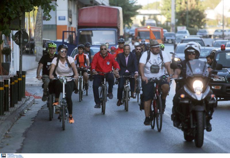 Ποδηλατοδρομία με συμμετοχή του Γιώργου Πατούλη
