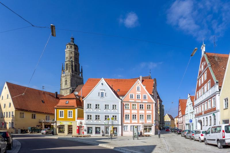 κτίρια στο Νέρντλινγκεν