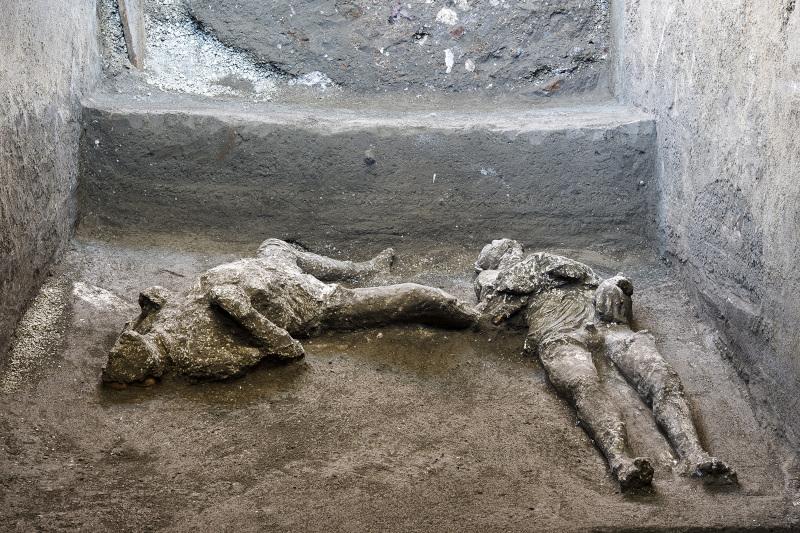 Πομπηία λείψανα