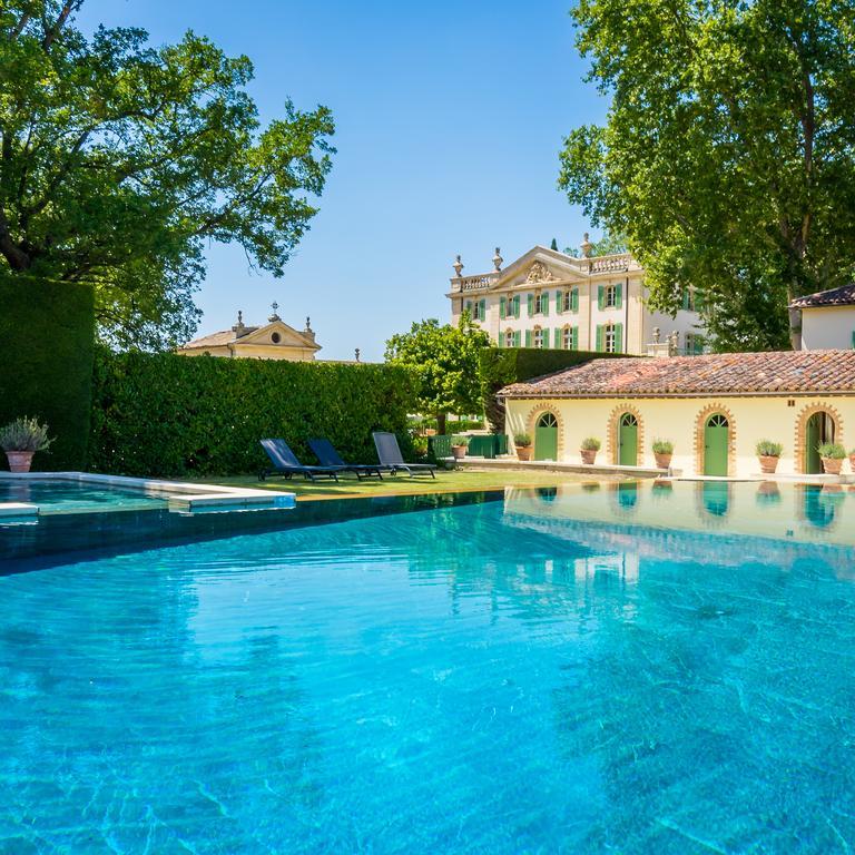 η πισίνα του chateau