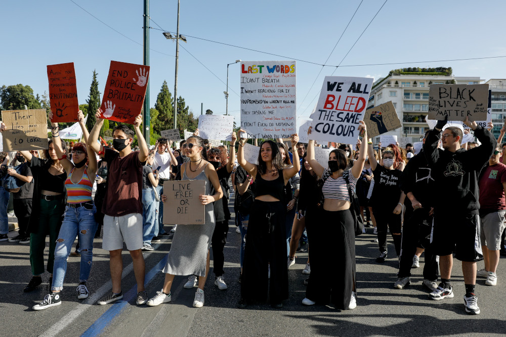 Νέα πορεία για τον Τζορτζ Φλόιντ στην Αθήνα