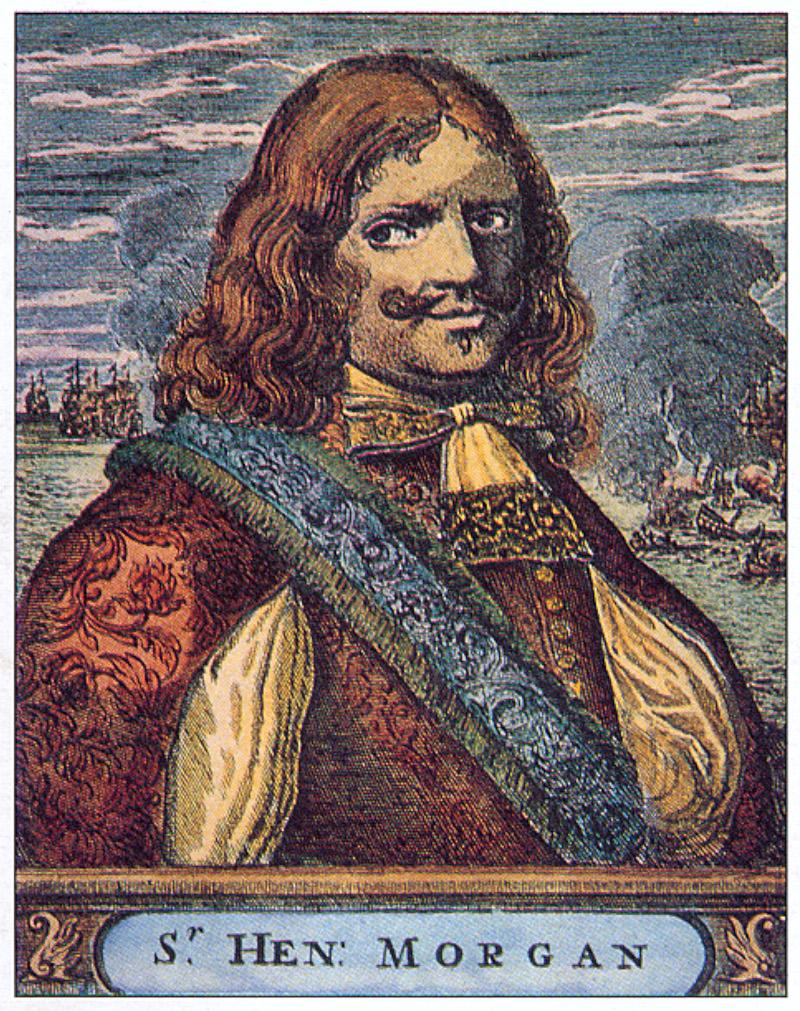 Πορτρέτο του περιβόητου πειρατή Χένρι Μόργκαν