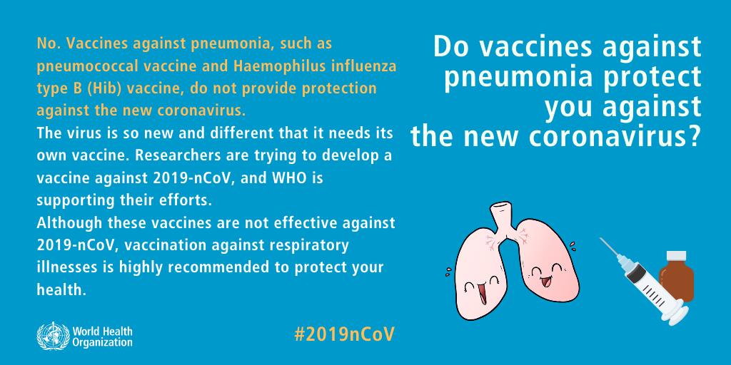Προστατεύει το εμβόλιο κατά της πνευμονίας και από τον κορωνοϊό;