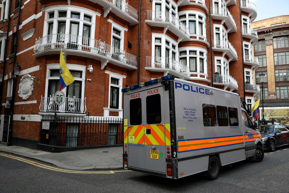 Κτίριο στο Λονδίνο όπου στεγάζεται η πρεσβεία του Ισημερινού
