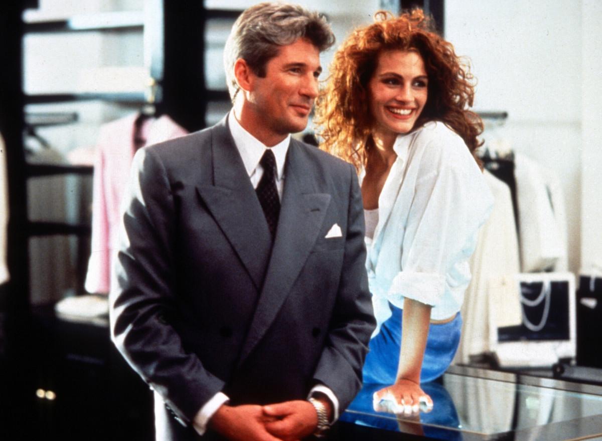 Ο Ρίτσαρντ Γκιρ και η Τζούλια Ρόμπερτς στα γυρίσματα της ταινίας Pretty Woman