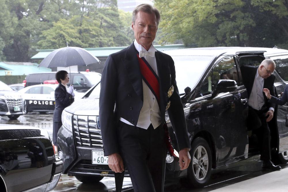 Στην τελετή και ο Μέγας Δούκας του Λουξεμβούργου Ερρίκος