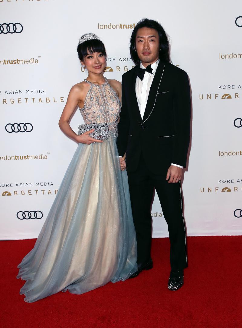 Ο πρίγκιπας Άντριου Λι με την σύζυγό του πριγκίπισσα Νάνα Λι