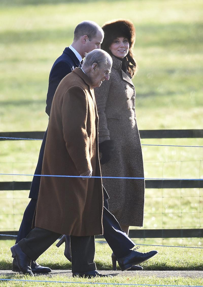 πρίγκιπας Γουίλια, πρίγκιπας Φίλιππος και Κέιτ