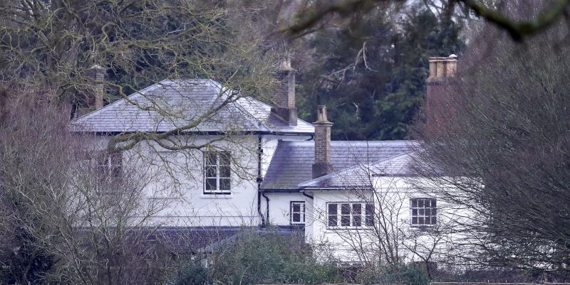 πρίγκιπας Χάρι Frogmore Cottage