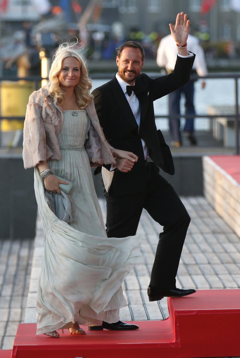 Η πριγκίπισσα Μέτε-Μάριτ  της Νορβηγίας και ο πρίγκιπας Χάακον