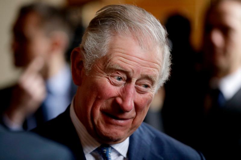 πρίγκιπας Κάρολος χαμογελαστός κοντινό πλάνο