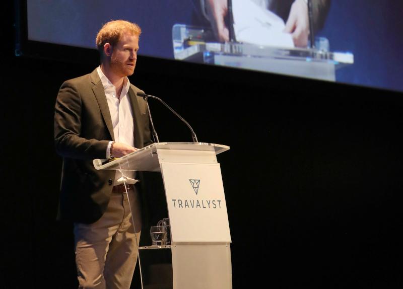 Ο πρίγκιπας Χάρι μίλησε για τον αειφόρο τουρισμό
