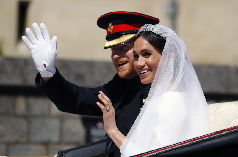 Ο βασιλικός γάμος του ζευγαριού στις 19 Μαϊου 2018
