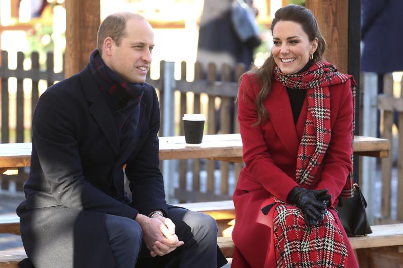 Πιο τρυφεροί και πιο διαχυτικοί ήταν αυτή την φορά ο πρίγκιπας Γουίλιαμ και η Κέιτ Μίντλετον