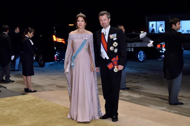 Η πριγκίπισσα Μαίρη της Δανίας έκανε μια safe επιλογή και για την βραδινή της εμφάνιση