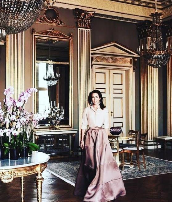 Η πριγκίπισσα Μαίρη της Δανίας στην πολυτελή κατοικία της