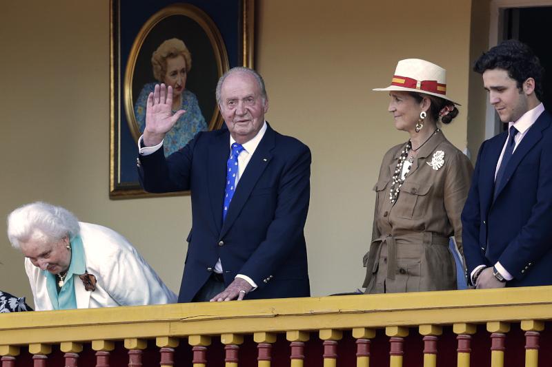Ο πρώην βασιλιάς της Ισπανίας, Χουάν Κάρλος