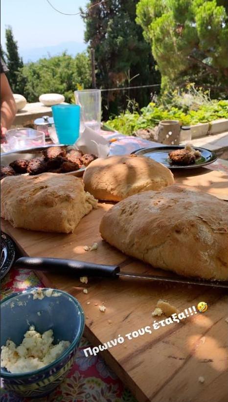 Το ζυμωτό ψωμί της Δέσποινας Βανδή