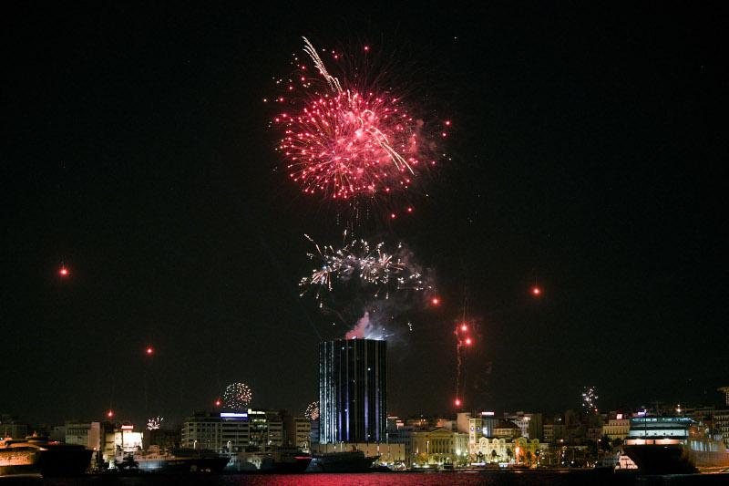 Πρωτοχρονιά πυροτεχνήματα