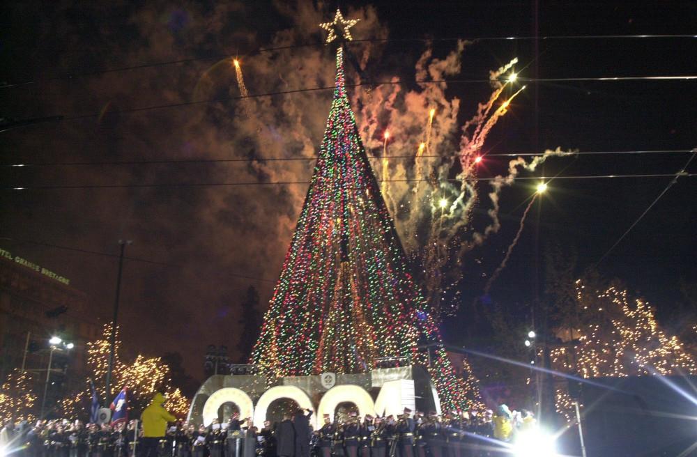 Χριστούγεννα στην Αθήνα του 2000