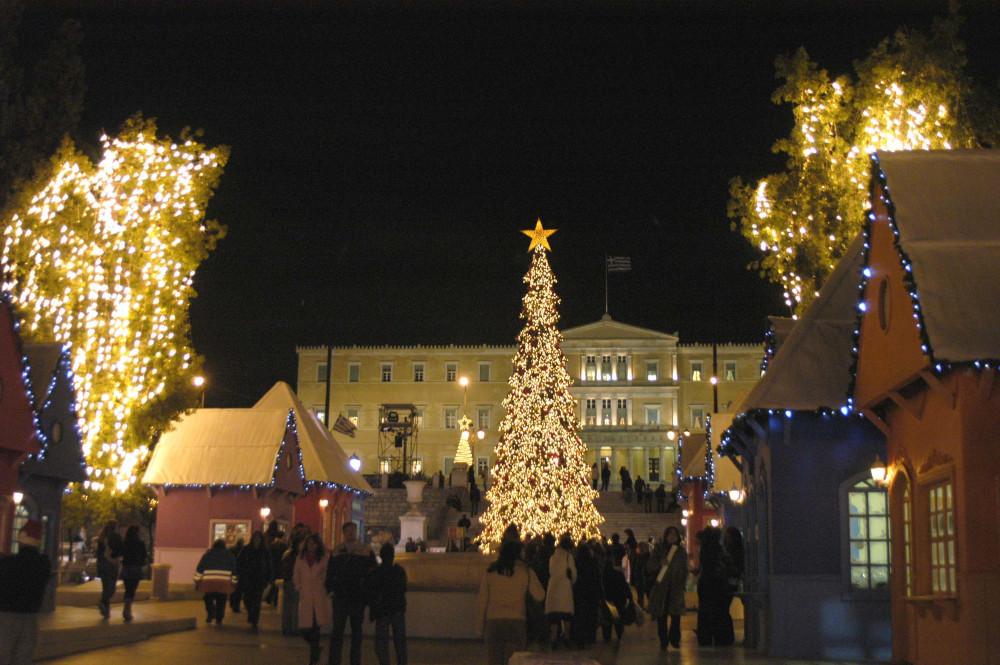 Χριστούγεννα στην Αθήνα το 2006