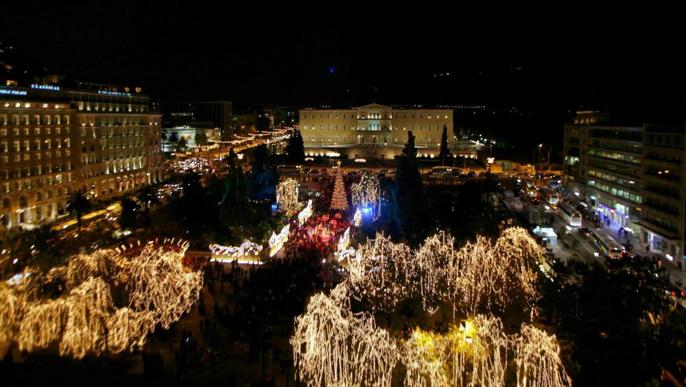 Η πλατεία Συντάγματος το 2007 -Τέλος η Ζαχαρούπολη λόγω... κόστους