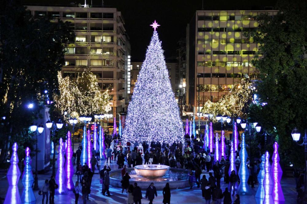 To οικολογικό χριστουγεννιάτικο δέντρο του 2009