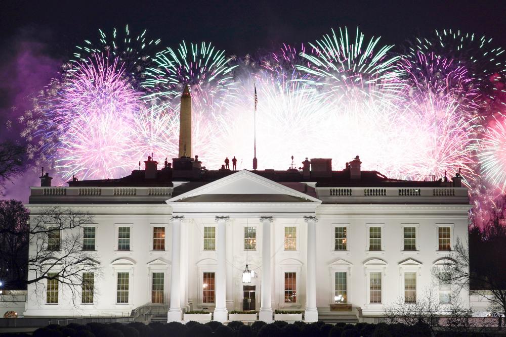 Πυροτεχνήματα στον Λευκό Οίκο