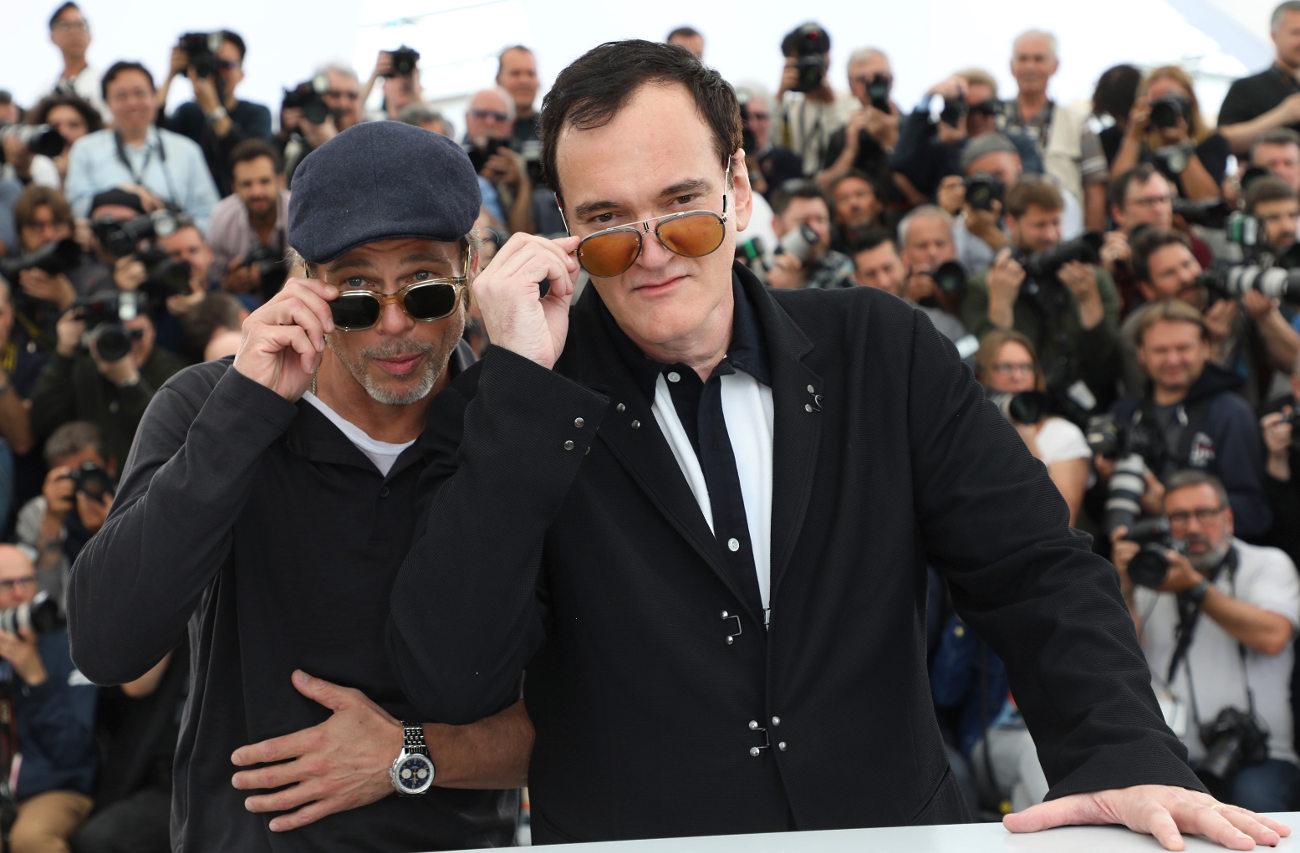 Μπραντ Πιτ και Κουέντιν Ταραντίνο βρίσκονται στις Κάννες με την ταινία «Μια φορά κι έναν καιρό στο Χόλιγουντ»