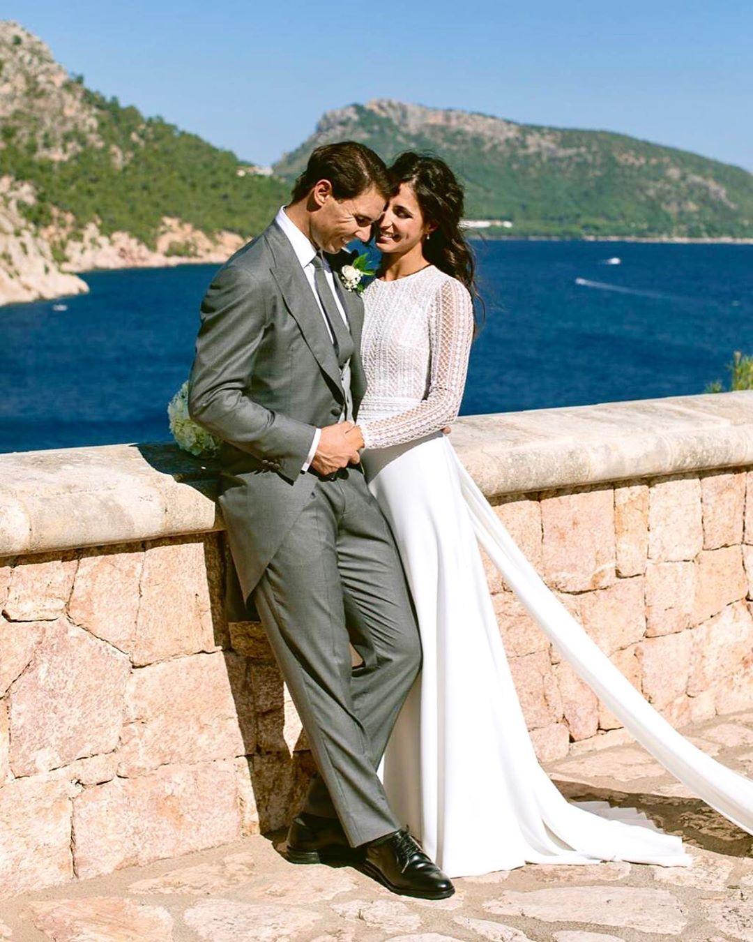 Ναδάλ γαμπρός με νύφη