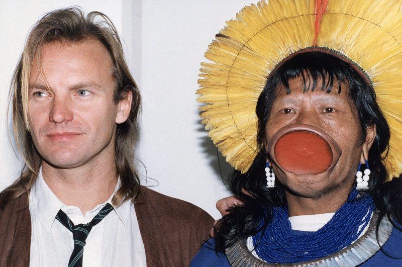 Ο Ραονί με τον Στιγνκ το 1989