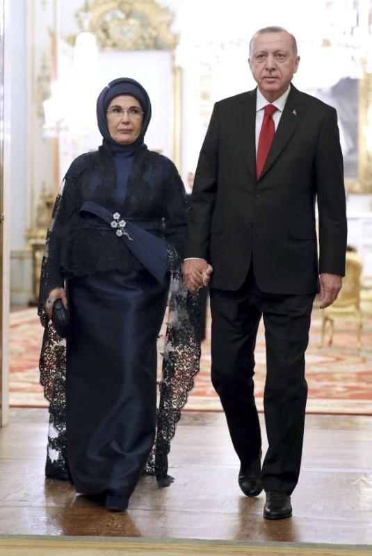 Ο Ρετζέπ Ταγίπ Ερντογάν και η σύζυγός του