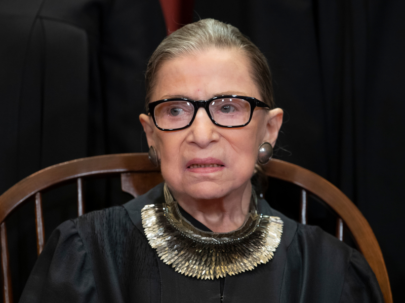 H RGB, η δικαστής των ΗΠΑ που έγινε λαϊκός ήρωας για χιλιάδες Αμερικανών